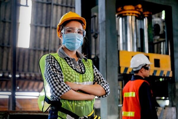 Mascherine per i lavoratori