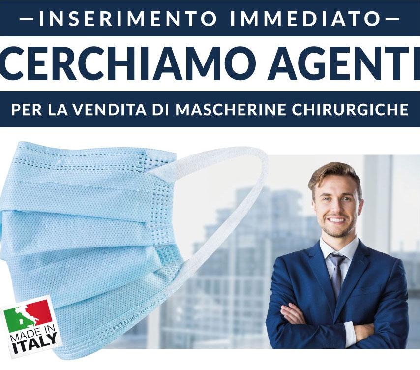 Mascherine Made in Italy è alla ricerca di agenti